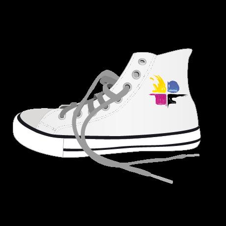 Sneaker individuell bedruckt